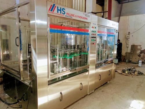 Stainless Steel Water Bottling Plant