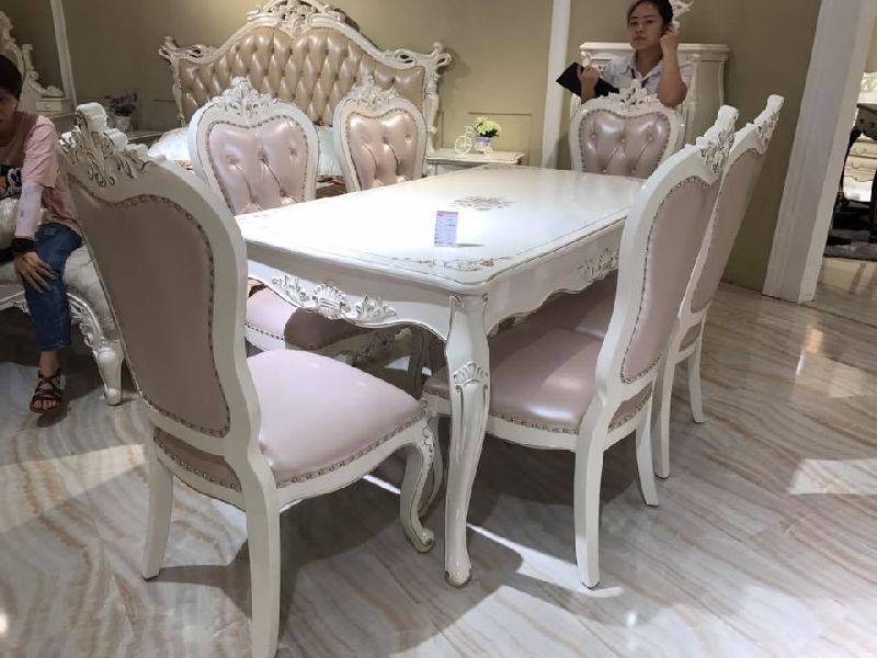 Teak Wood Dining Table Set Manufacturer in Saharanpur ...