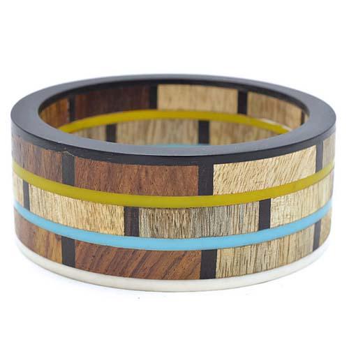 Wooden Resin Bangles