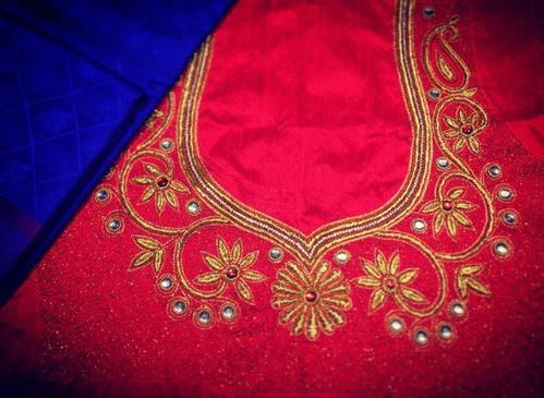 Aari Work Salwar Suit