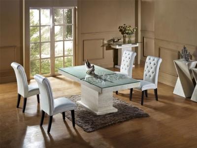 Stylish Dining Table Set Application Room Inr 95 K 18 By Skf Decor From Delhi Delhi Id 5211548