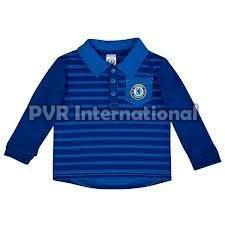 Kids Knitted Polo T-Shirts