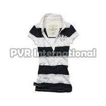 Teenage Girls Knitted Polo T-Shirts
