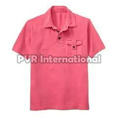 Teenage Boys Knitted Polo T-Shirts