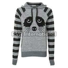 Ladies Knitted Sweatshirts