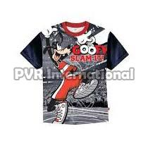 Teenage Boys Knitted Round Neck T-Shirts