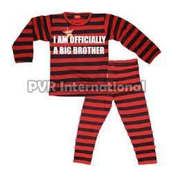 Teenage Boys Knitted Pyjama Set