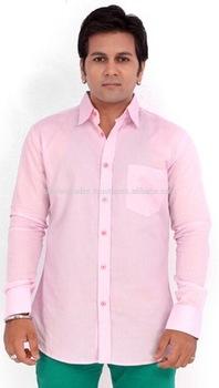 Mens formal executive checks shirt