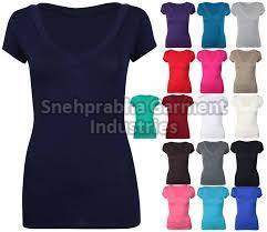 Ladies Multicolor T-Shirts