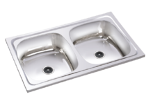 Stainless Steel Double bowl Kitchen Sinks