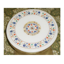 White Marble Decorative Table