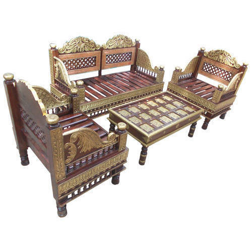 Phenomenal Antique Wooden Sofa Set Manufacturer In Medinipur West Customarchery Wood Chair Design Ideas Customarcherynet