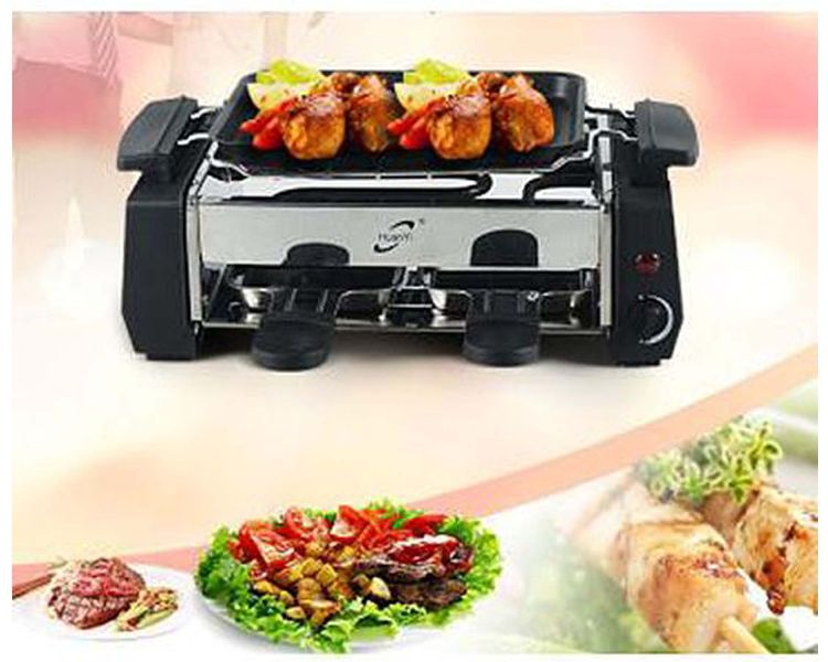 Electric Barbeque Grill And Barbecue Grill Toaster