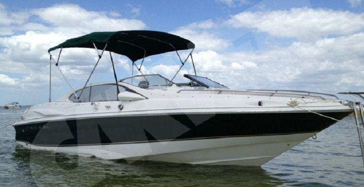 Aluminium Round 4 Bow Boat Bimini Top