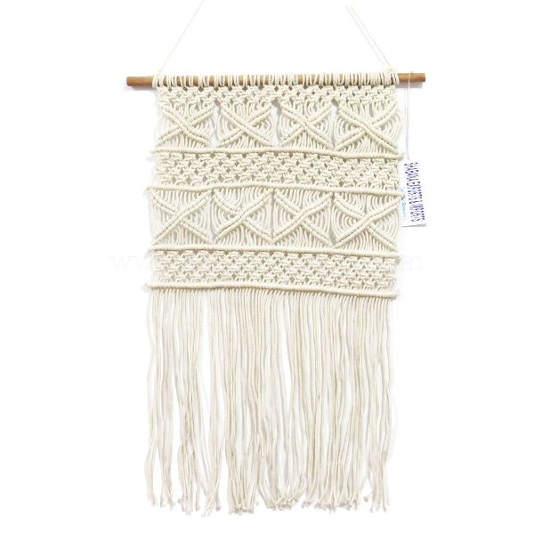 Cotton Macrame Woven Tapestry Wall Hanging