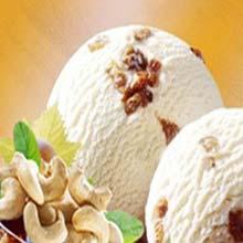 4 Litre Kaju Kismis Ice Cream
