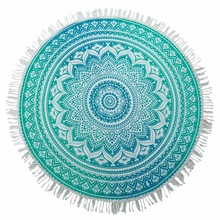 cotton round beach towels