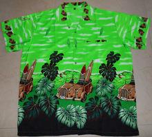 vintage car hawaiian shirt