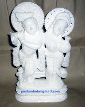 Marble Krishna Radha Statues