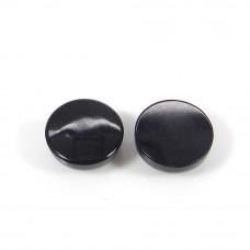 Black Onyx Round Cabochon