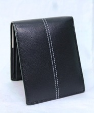 Leather Natural Color Leather Wallet For Men