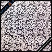 Designer wedding lace trim polyester
