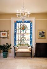 Decorative Glass Window Panel