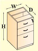 Fixed Pedestal Storages
