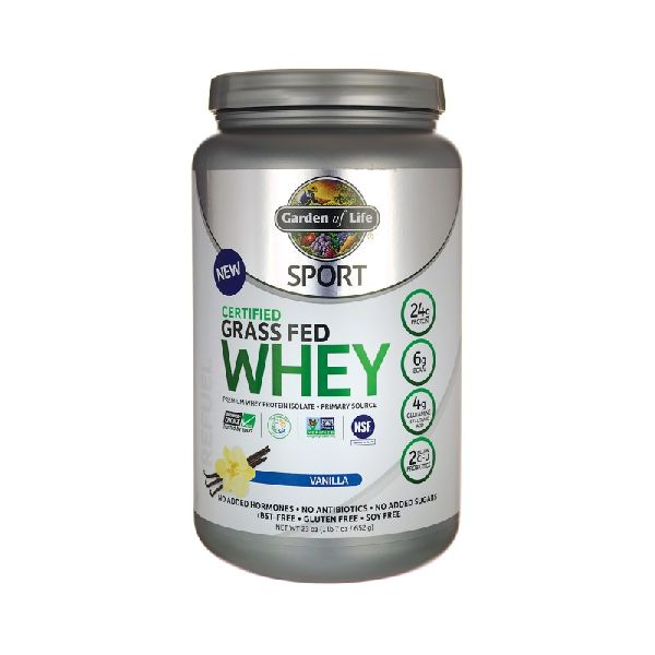 CERTIFIED GRASS FED WHEY PROTEIN VANILLA PWDR