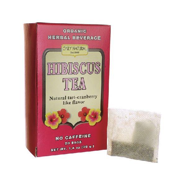 HIBISCUS TEA NO CAFFEINE NATURAL TARTCRANBERRYFLAVOR