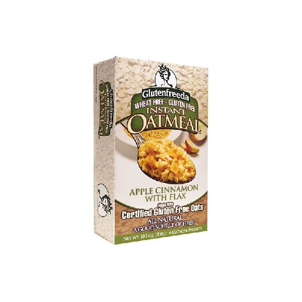 INSTANT OATMEAL APPLE CINNAMON WITH FLAX