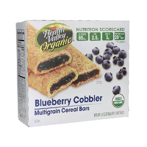 MULTIGRAIN CEREAL BARS BLUEBERRY COBBLER