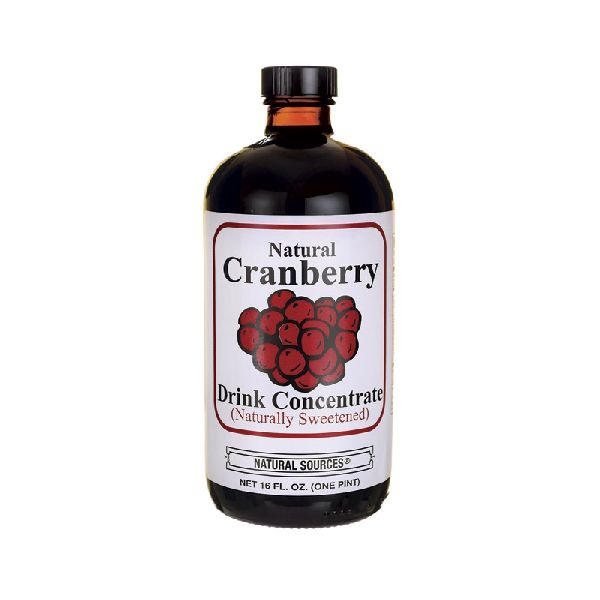 NATURAL CRANBERRY DRINK CONCENTRATE