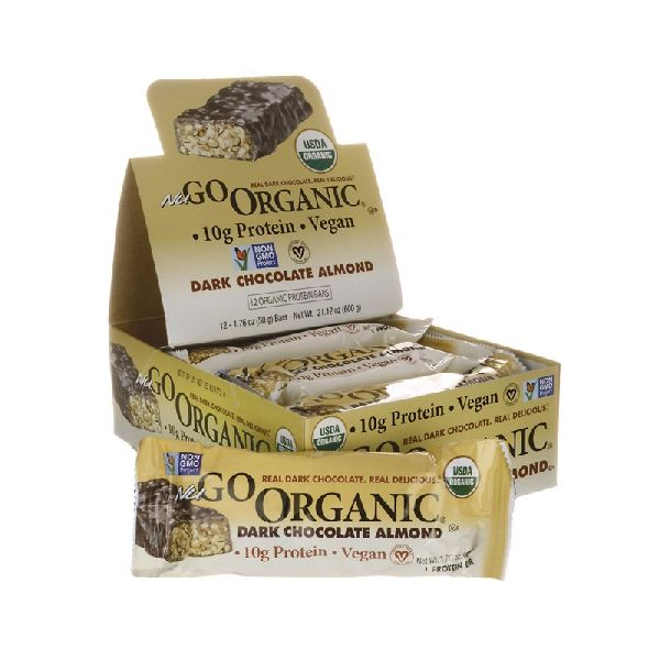 ORGANIC BARS DARK CHOCOLATE ALMOND