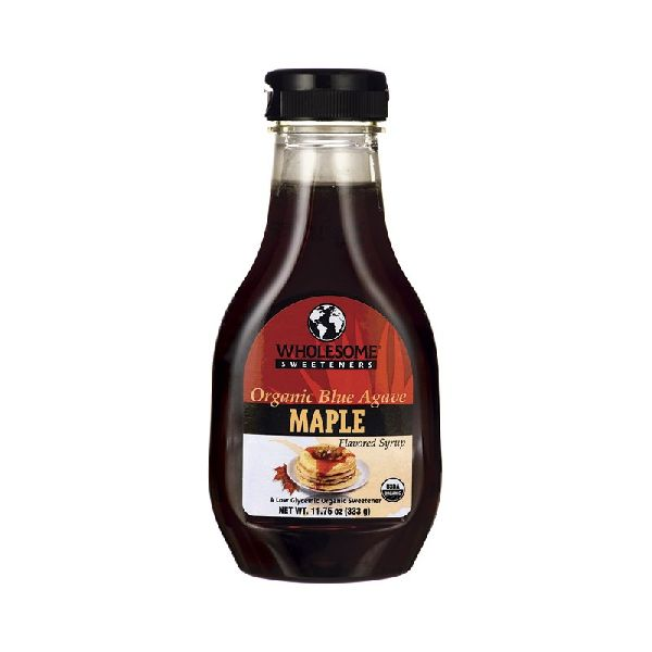 ORGANIC BLUE AGAVE SYRUP MAPLE