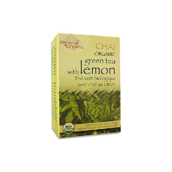 ORGANIC GREEN LEMON TEA