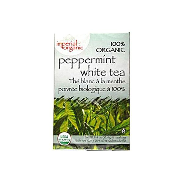 ORGANIC PEPPERMINT WHITE TEA