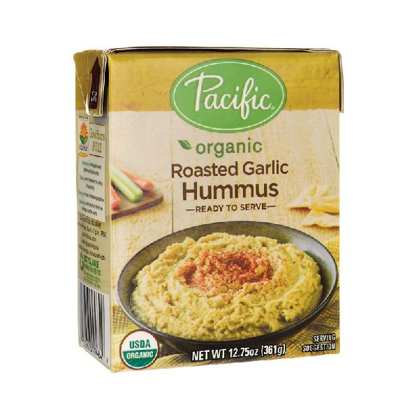 ORGANIC ROASTED GARLIC HUMMUS