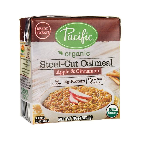 ORGANIC STEELCUT OATMEAL APPLE & CINNAMON