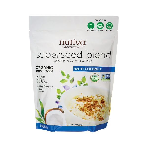 ORGANIC SUPERSEED BLEND WITH COCONUT