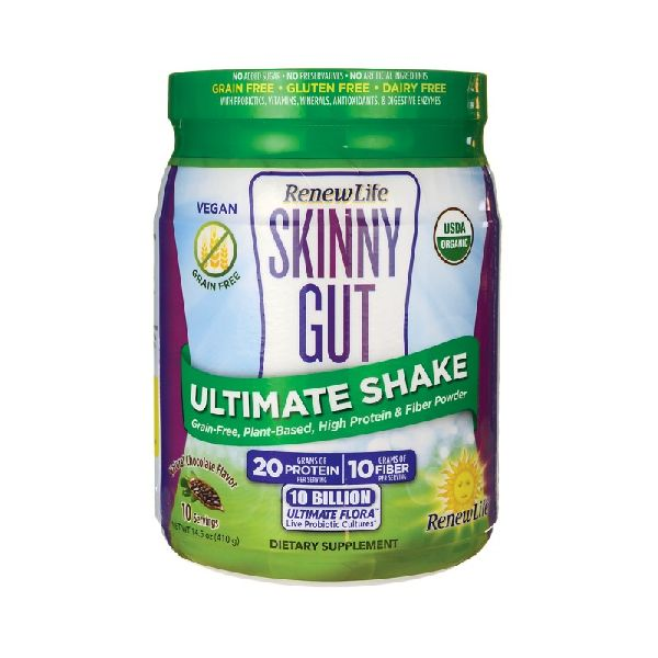 SKINNY GUT ULTIMATE SHAKE NATURAL CHOCOLATE FLAVOR