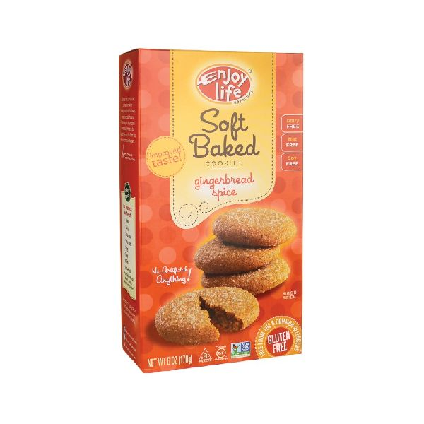 SOFT BAKED COOKIES GINGERBREAD SPICE
