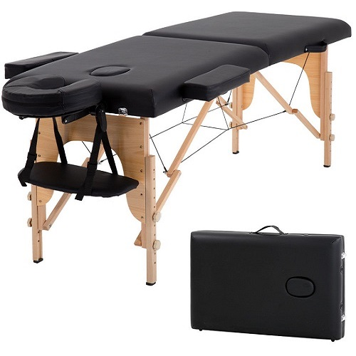 Long Portable 2 Folding Massage Table