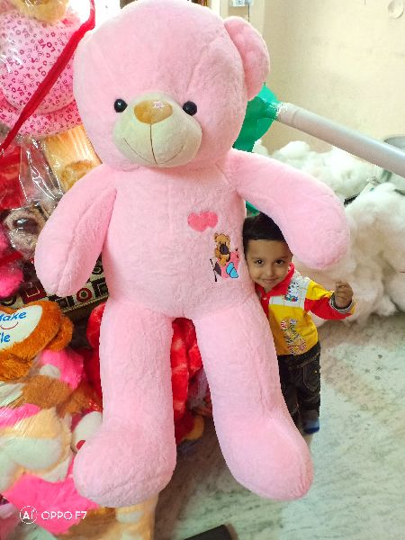 Red Teddy Bear 5 Feet, Long Sticker Teddy 5 Feet Manufacturer Exporters From India Id 4812478