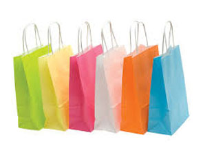 T-shirt/ Vest type carrier bags