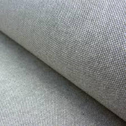 Grey Plain Weave Cotton Fabric