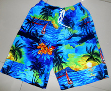 POLY MICRO HAWAIIAN SHORTS