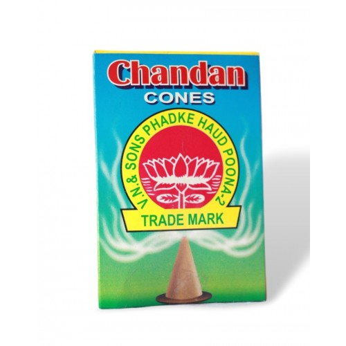 Chandan Dhoop Cone
