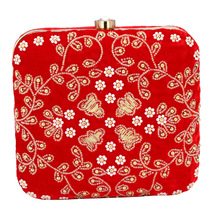 Fancy Hand Embroidery Clutch Purse