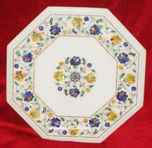 Marble Inlay Coffee Table Tops, Marble Inlay Pietar Dura Table Top